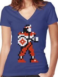Rygar Women's Fitted V-Neck T-Shirt