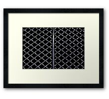 A Hot Grill Framed Print
