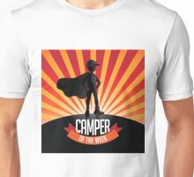 Male Camper of the week burst Unisex T-Shirt