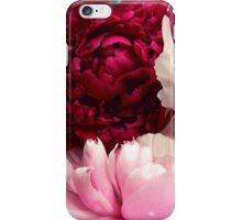 flowers peonies iPhone Case/Skin
