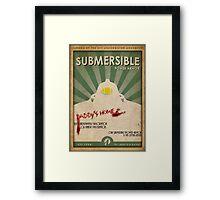 Submersible Power Armor Poster Framed Print
