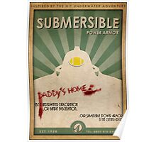 Submersible Power Armor Poster Poster