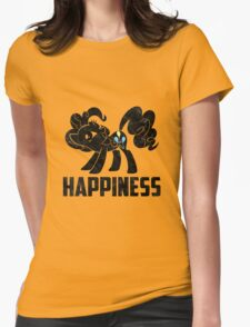 Pinkie Pie - Happiness Womens Fitted T-Shirt