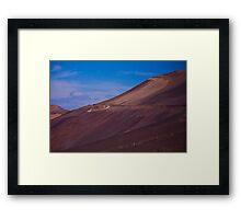 Wadi in the Atacama Framed Print