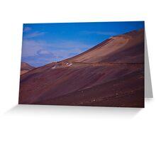 Wadi in the Atacama Greeting Card