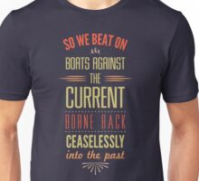 Boats Against the Current Unisex T-Shirt