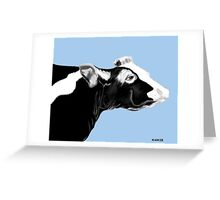 WHAT A COW!!! Greeting Card