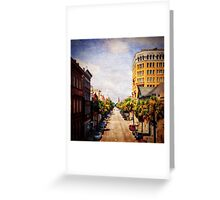Holy City - Provost View Greeting Card
