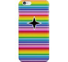 rainbow star iPhone Case/Skin
