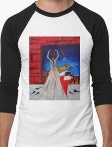 Love To Dance 002  Men's Baseball ¾ T-Shirt