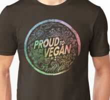 Proud to be Vegan - Rainbow Unisex T-Shirt