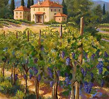 Chianti Vineyard by Joanne Morris