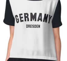 GERMANY DRESDEN Chiffon Top