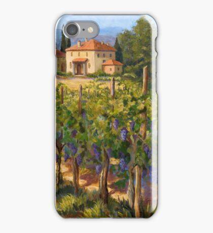 Chianti Vineyard iPhone Case/Skin