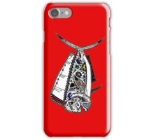 Graffiti Red Mahi Mahi Dolphinfish iPhone Case/Skin