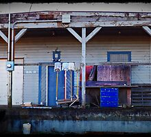 Old Storage Area Tillamook Naval Air Station by dianegaddis