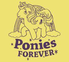 ponies forever! Kids Tee