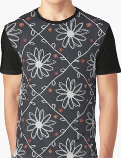 Doodle Daisies Graphic T-Shirt