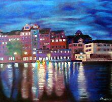 """Lights at dusk"" by Helenka"