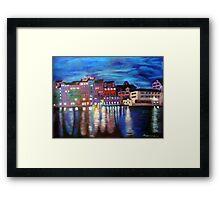 """""""Lights at dusk"""" Framed Print"""