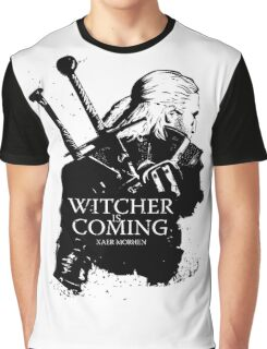 Witcher Is Coming Graphic T-Shirt