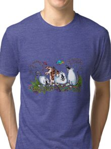 Looking for their Marbles Tri-blend T-Shirt