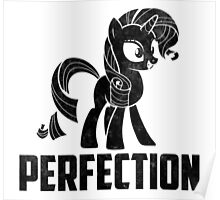 Rarity - Perfection Poster