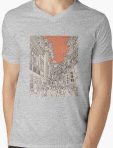 In China II. Mens V-Neck T-Shirt
