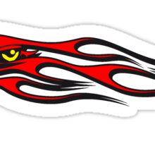 Feuer flamme Vogel  Sticker