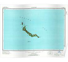 USGS TOPO Map Alaska AK St Matthew 361381 1951 250000 Poster