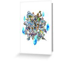 Final Fantasy Crystal Chronicles Greeting Card