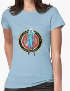 Andorian Girl - United Federation of Planets Womens Fitted T-Shirt