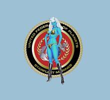 Andorian Girl - United Federation of Planets Unisex T-Shirt