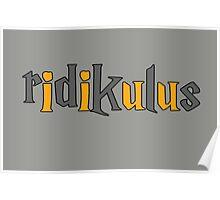 Ridikulus: Hufflepuff Edition Poster