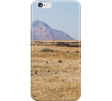 Brandberg in the distance iPhone Case/Skin