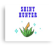 Shiny Hunter Canvas Print