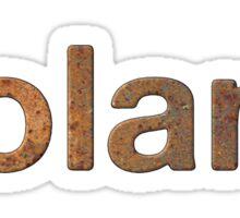 Rusty roland Sticker