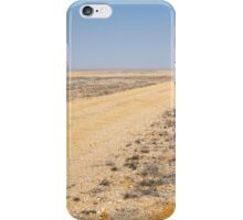 On the road to nowhere. iPhone Case/Skin