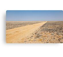On the road to nowhere. Canvas Print