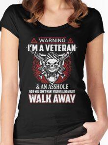 I'm a Veteran Tshirt Women's Fitted Scoop T-Shirt