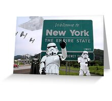 New York Welcome Greeting Card