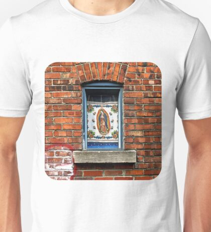 Our Lady of the Window Unisex T-Shirt