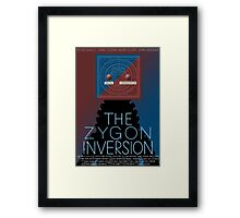 the zygon inversion poster Framed Print