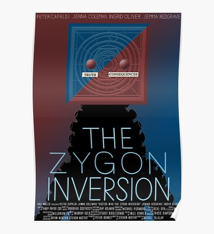 the zygon inversion poster Poster