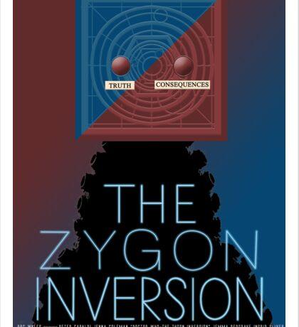 the zygon inversion poster Sticker