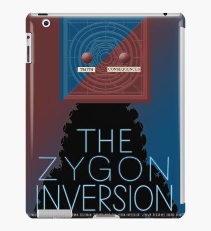 the zygon inversion poster iPad Case/Skin
