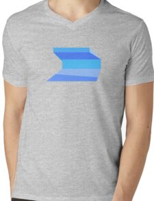 Seattle Public Library Mens V-Neck T-Shirt