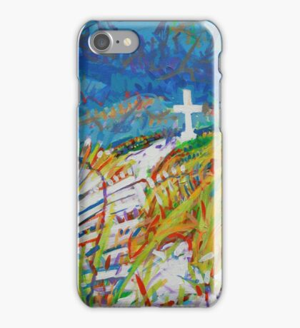 Beach Cross iPhone Case/Skin