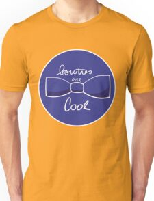 Bow ties are AWESOME (Blue) Unisex T-Shirt