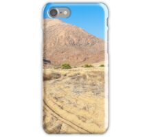 Tracks in the sand iPhone Case/Skin